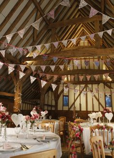 Add a personal look to your venue with our Wedding Bunting