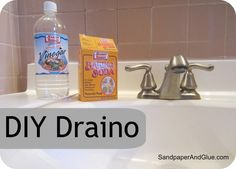 Super drain declogger from homemade supplies you already have on hand!