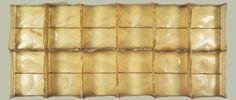 "Eva Hesse, Sans II 1968 Fibreglass 96.5 x 218. 4 x 15.6 cm 38 x 86 x 6¼"""