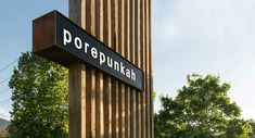 porepunkah entry signage