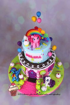 My Little Pony Cake More Birthday Party