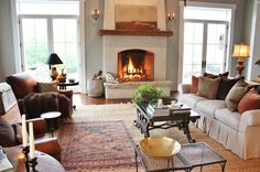 """Joan writes the blog """"For the Love of a House"""" from her beautiful old home in New Hampshire where she turned an old attached barn into a livable room."""