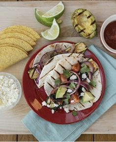 Ten Minute Grilled Veggie Tacos http://wm13.walmart.com/Cook/Recipes/30577