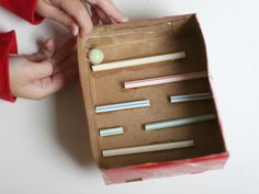 Kids Activity: Making a Straw Marble Maze