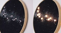 Stickrahmen Glitter und Funkeln #embroidery Plates, Tableware, February, Decorating, Licence Plates, Dishes, Dinnerware, Griddles, Tablewares