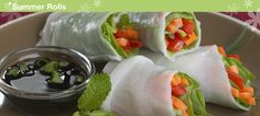 Tupperware | Finger Foods - Summer Rolls