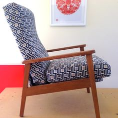 Restyle Studio - Just completed vintage recliner TV chair