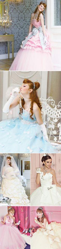 21 Adorable Princess Gowns - Barbie Bridal