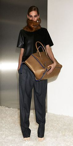 CÉLINE ready to wear collection Automne 2012 look n°27