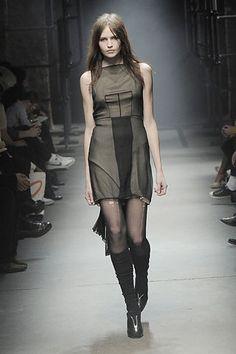 Alexander Wang Fall 2008 Ready-to-Wear Fashion Show - Rachel Clark