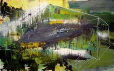 "Saatchi Art Artist Jan Valer; Painting, ""landscape III"" #art"