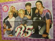 R5, Ross Lynch, Selena Gomez, Double Four Page Foldout Poster
