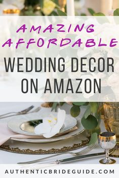 Get amazing wedding decorations that are budget friendly and affordable wedding decor. Christmas Wedding Themes, Wedding Decorations On A Budget, Wedding Centerpieces, Wedding Advice, Wedding Planning, Wedding Hacks, Wedding Ideas, Wedding Photo Booth Props, Wedding Cake Designs