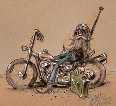 Ideas For Motorcycle Concept Art Harley Davidson Biker Tattoos, Motorcycle Tattoos, Motorcycle Art, Bike Art, Harley Bikes, Harley Davidson Motorcycles, David Mann Art, E Biker, Kustom Kulture