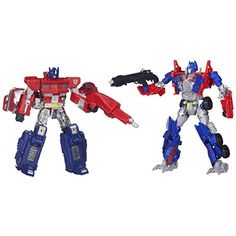 Transformers 4 Age of Extinction Exclusive Evolution Action Figure 2Pack Optimus Prime * For more information, visit image link.Note:It is affiliate link to Amazon.