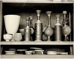full shelf. Lucie Rie