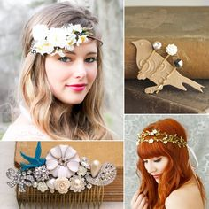 Bridal Hair Accessories From Etsy Wedding Hairstyle With Accessories And Tiara Girls Hair Accessories, Wedding Hair Accessories, Perth, Unique Wedding Hairstyles, Bridal Hairstyles, Bridal Hair Inspiration, Wedding Hair Down, Bridal Hair Vine, Headpiece Wedding