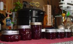 mason jars to muffin tins: Summer Solstice Preserves