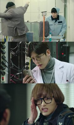 A few of Ji Chang Wook's disguises in Healer
