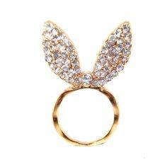 Crystal Bunny Ears...How Fun!