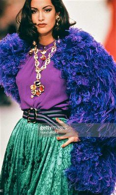 Yasmeen Ghauri - YSL Runway Show 1992