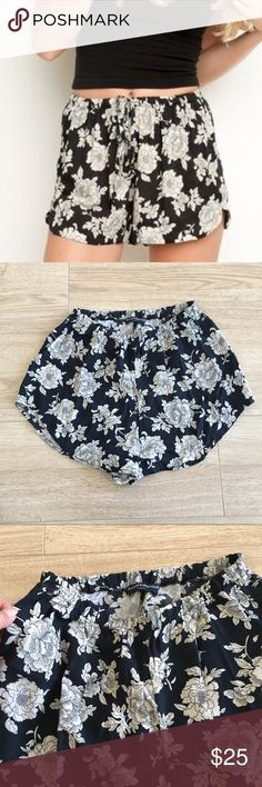 Brandy Melville Floral Shorts Rare floral shorts, preloved but plenty of life left. Sold out style. OSFA. No trades Brandy Melville Shorts