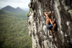 THis is a collection of images showcasing the wonderful art of Climbing Rocks.