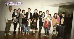 The amazing families and the narrator