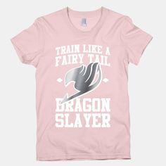 Train Like a Fairy Tail Dragon Slayer (Gajeel) | HUMAN | T-Shirts, Tanks, Sweatshirts and Hoodies