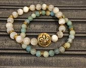 Louisiana Bead Stack Bracelet Set