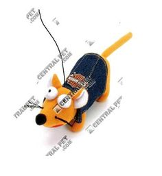 Harley Davidson Plush Mouse Cat Toy * Click image for more details.