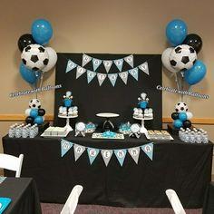 Soccer Birthday, Birthday Balloons, Bebe, Football Birthday