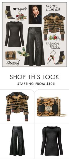 """#PolyPresents: Wish List"" by zabead ❤ liked on Polyvore featuring Miu Miu, SALAR, Golden Goose, Rick Owens, Malone Souliers, contestentry and polyPresents"