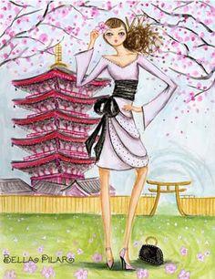 Sakura blossoms Japan