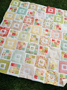 I'm showingthis newly finished quilt top to you now because I just can't wait, I LOVE it! And honestly, I don't think it's going to get ...