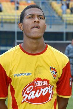 Salomón Rondón cuando jugaba en el Aragua FC.