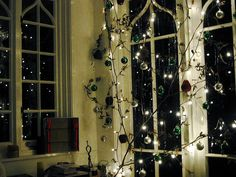 sparkly Christmas branch