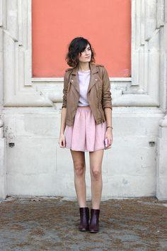 La bloggeuse Mango & Salt adopte un look tendance et frais. Inspiration look Lovely Lady Beauty Success.