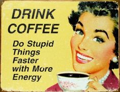 Vintage Coffee Poster -  Lori Holt - Google+