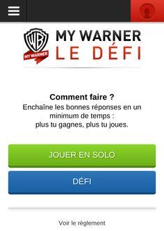 """Dans le top des QR codes scannés par la communauté Mobiletag le 5 décembre 2013 : WARNER BROS avec ses jeux """"défi""""pour affronter ses amis sur des thèmes cinématiques depuis son mobile !  Vous aussi téléchargez l'application et scannez avec votre smartphone pour jouer : http://8.mobiletag.com/?id=566"""