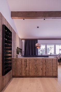 Gesamtkonzept Wohnung G. - Innenarchitektur by Kotrasch Condo Interior Design, Carpentry, Timber Wood