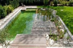 Schwimmteich im Genießergarten - Gartendesign