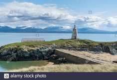 Wales Uk, North Wales, Anglesey, Lighthouse, Statue Of Liberty, Stock Photos, Island, God, Mountains