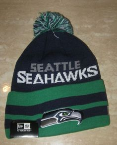 676697bd7e0 ... clearance 2013 nfl new era seattle seahawks on field sport knit hat  sideline nwts 7305c 1b8dc