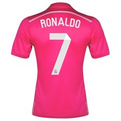 b4d0a8e4f6af1 Cristiano Ronaldo CR7 Real Madrid Pink 2014-2015 Futebol