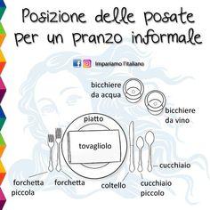 posate - dinner - table setting - eating utensils