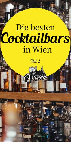 For cocktails, there is no real season, they provide us around the year with a portion of holiday feeling and let us taste the taste of distant lands or even bygone times. After all, drinks that have Restaurants In Paris, Barcelona Restaurants, Beste Cocktails, Fun Cocktails, Drinks, Restaurant Bar, Rumchata Recipes, Budapest Travel Guide, Vienna