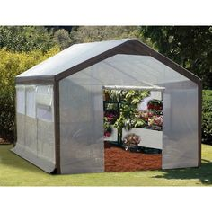 Home Gardener Airflow Greenhouse (10' x 20') - Quality House