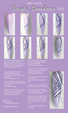Acrylic Nail Designs Classy, Black Acrylic Nails, Acrylic Nail Tips, Cute Nail Designs, Glue On Nails, Diy Nails, Nail Art For Beginners, Beginner Nail Art, Nail Painting Tips