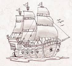 Afbeeldingsresultaat voor how to draw ships